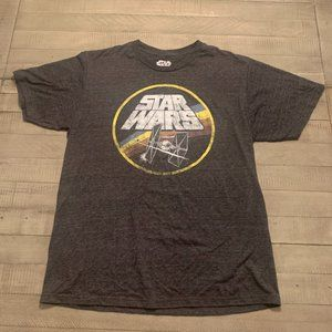 Star Wars T-Shirt Black Large